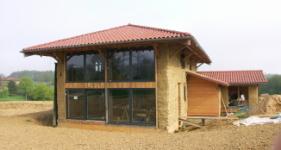 maison cologique dans lain - Maison Ecologique En Paille
